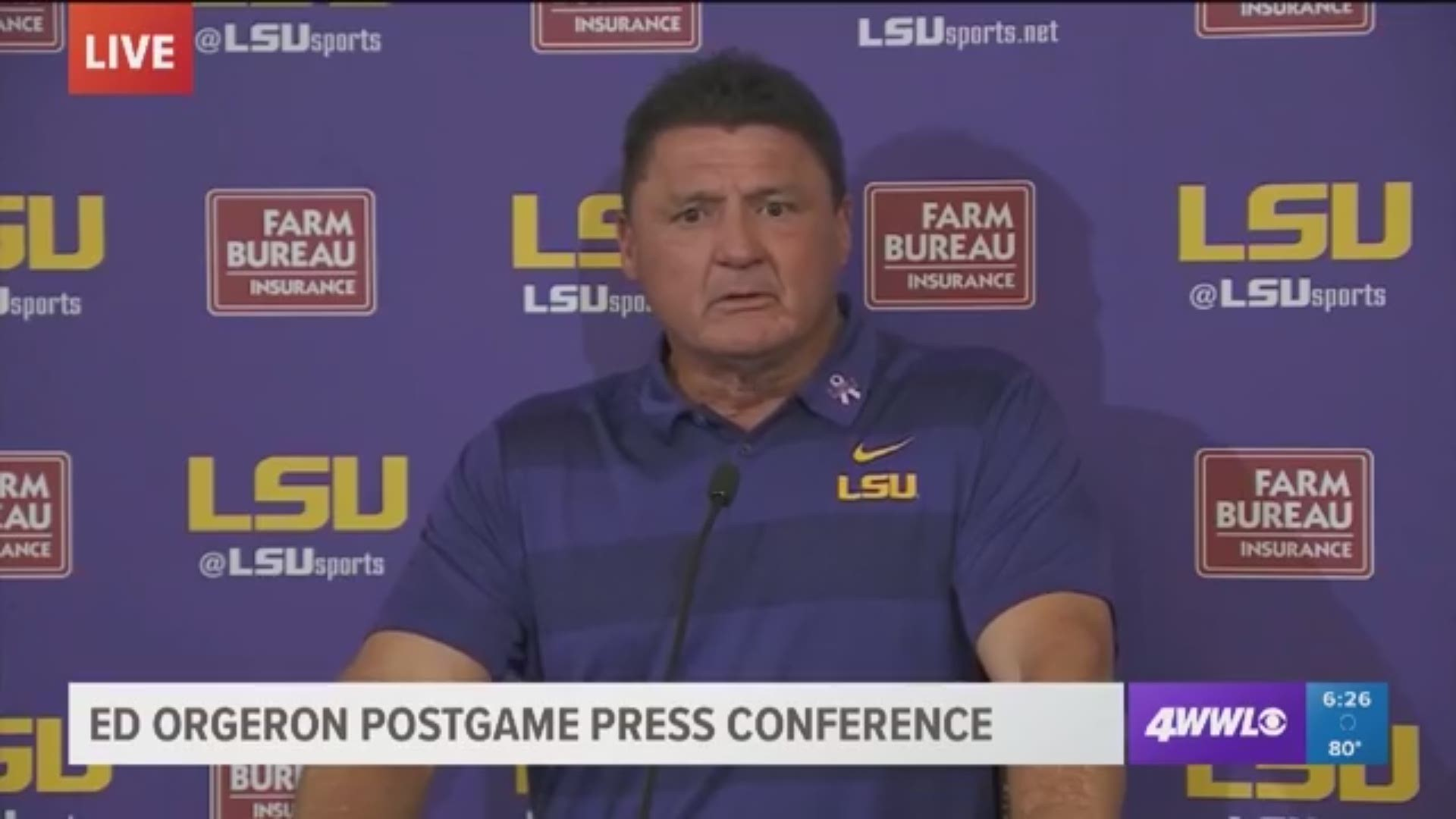 Will Lsu Use Terrible Thursday Practices Considering How Things Went Saturday Wwltv Com