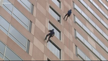 Over the Edge Special Olympics 2018