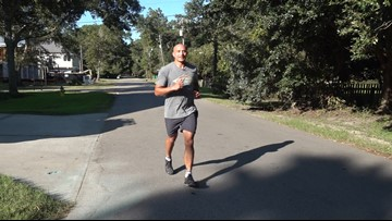 Mandeville man lost 8 friends to suicide, now runs to raise awareness