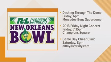 18th Annual R L Carriers New Orleans Bowl