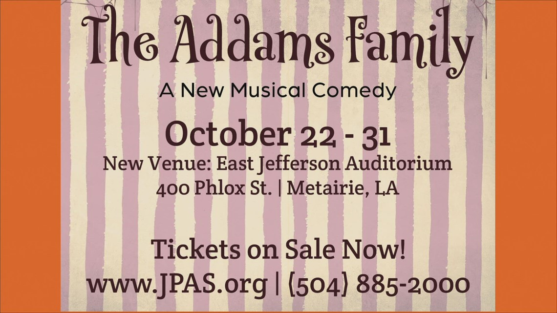 ' The Addams Family' opens this weekend at East Jefferson High School
