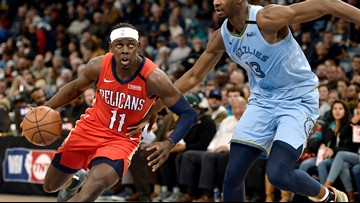 Holiday scores 36, leads Pelicans past Grizzlies 126-116