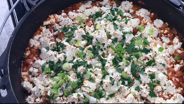 Recipe: Chef Kevin Belton's Chickpea Casserole with Feta & Spinach