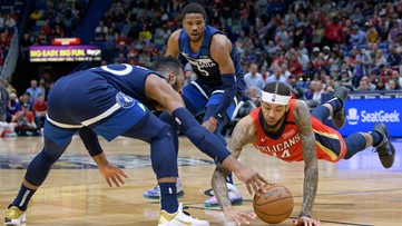 Pelicans fall to Timberwolves, 139-134
