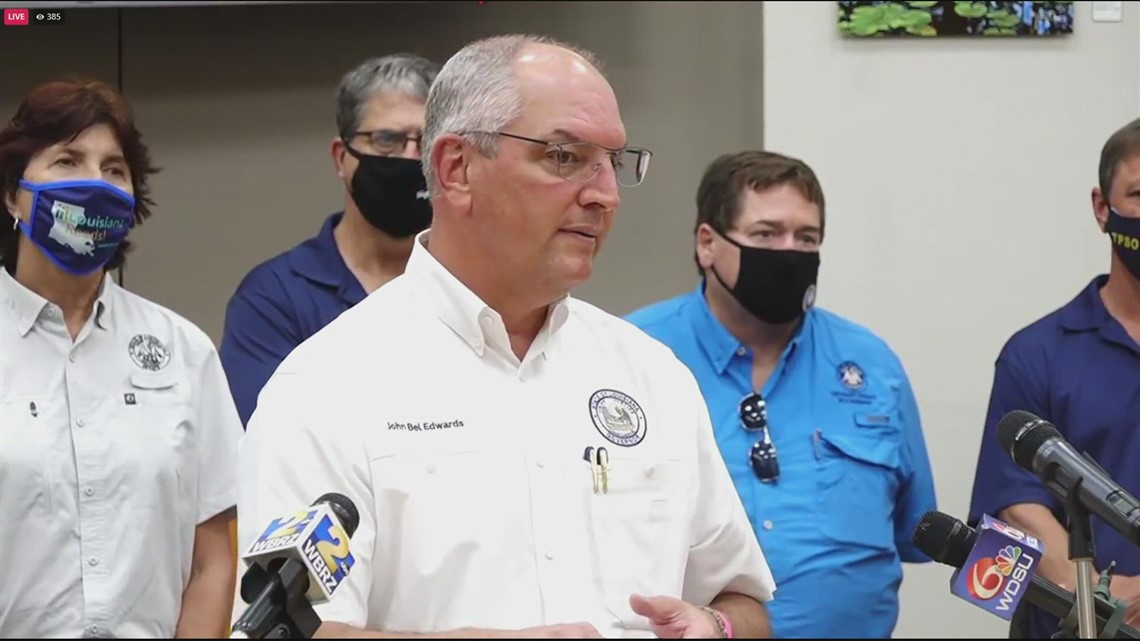 Gov. John Bel Edwards answers question on how the nursing home deaths could happen