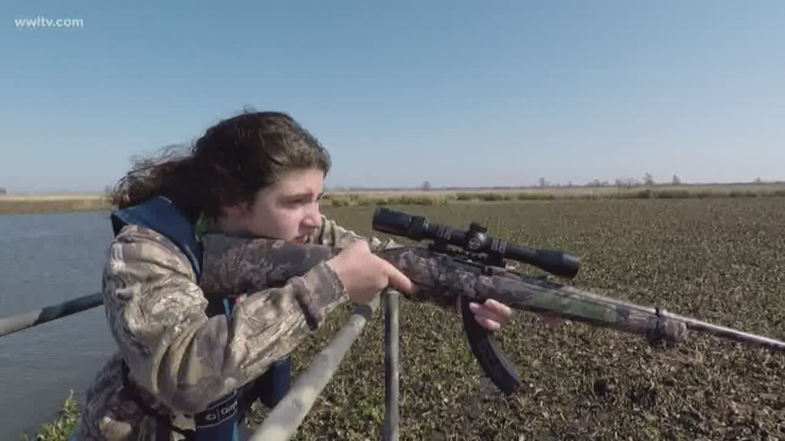 Fish & Game Report: Hunting nutria with a father-daughter duo