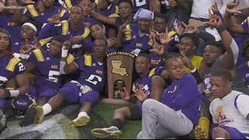 Amite Warriors beat Welsh Greyhounds for Class IIA state title