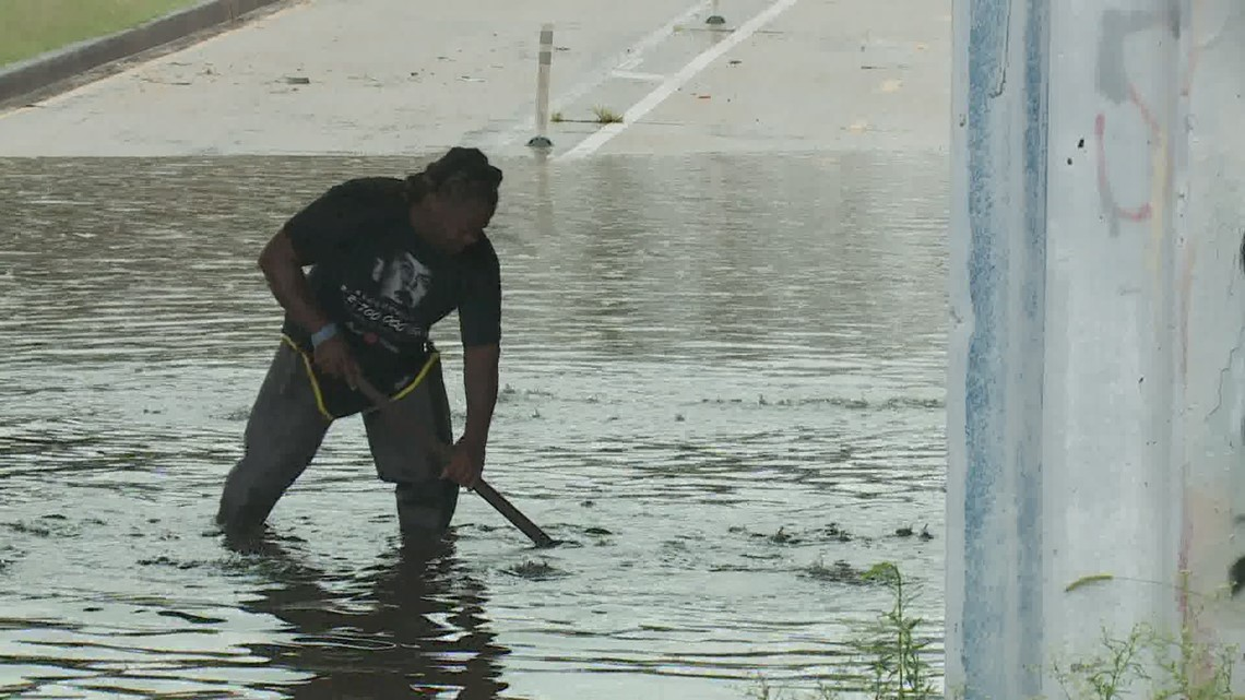 'It's frustrating' | Streets flood as heavy storm dumps rain on New Orleans