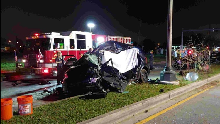 Fatal car accident Williams Airline