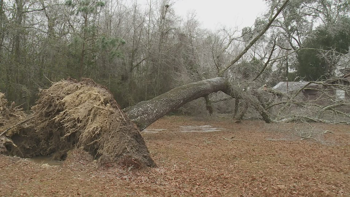 Winter storm hits Tangipahoa Parish hardest in southeast Louisiana