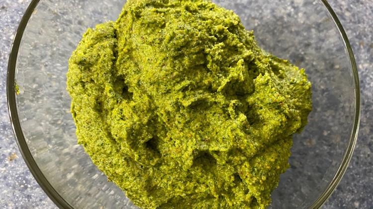 Recipe: Chef Kevin's Pistachio Lemon Pesto