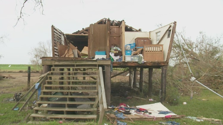 Native American tribe dealing with never-before-seen destruction following Hurricane Ida