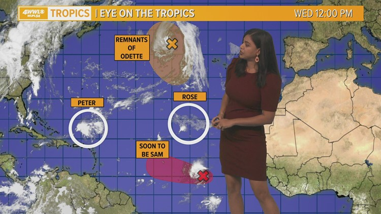 Noon Tropical Update: No current threats to the Gulf of Mexico