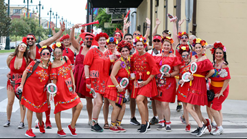 New Orleans' 25th annual Red Dress Run did not disappoint