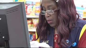 Slidell Walmart cashier walks 6 miles to work - says not having a vehicle 'no excuse'