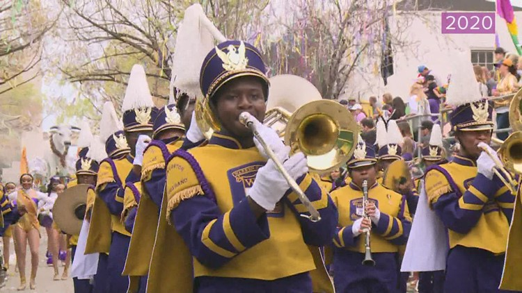 Watch: New and classic performances from Mardi Gras marching bands