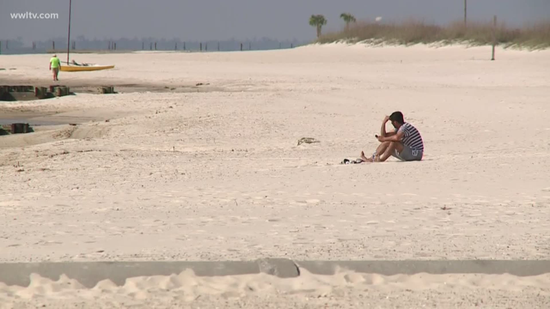 Empty Beaches On Mississippi Coast A Sign Of Coronavirus Effect
