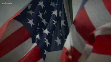 Veteran looking to bring new use to flags for Flag Day