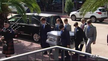 Gov. Blanco's memorial services begin in Baton Rouge
