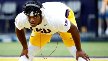 LSU coach Orgeron: Charles, Divinity to play at Texas