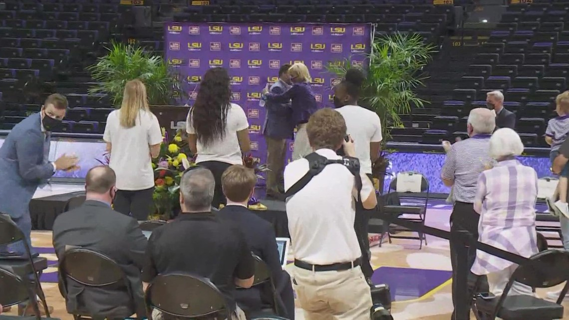Watch: Kim Mulkey's introductory press conference at LSU