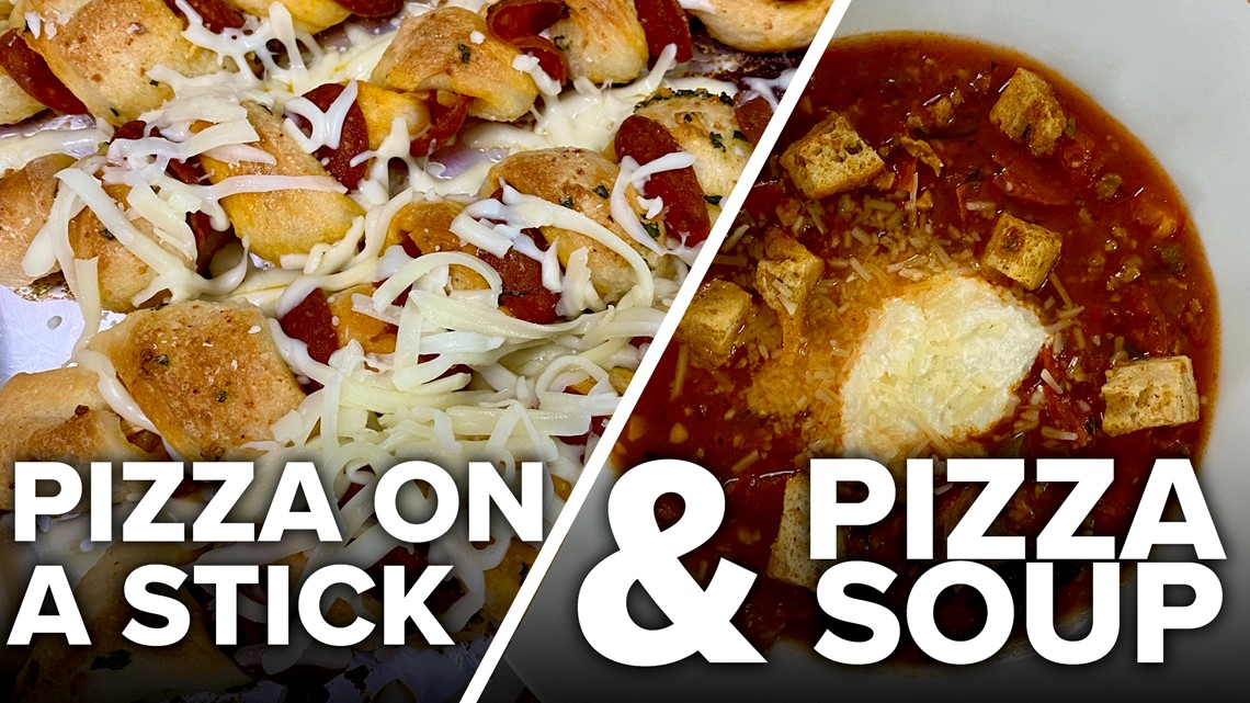 Recipe: Chef Kevin's Pizza on a Stick and Pizza Soup