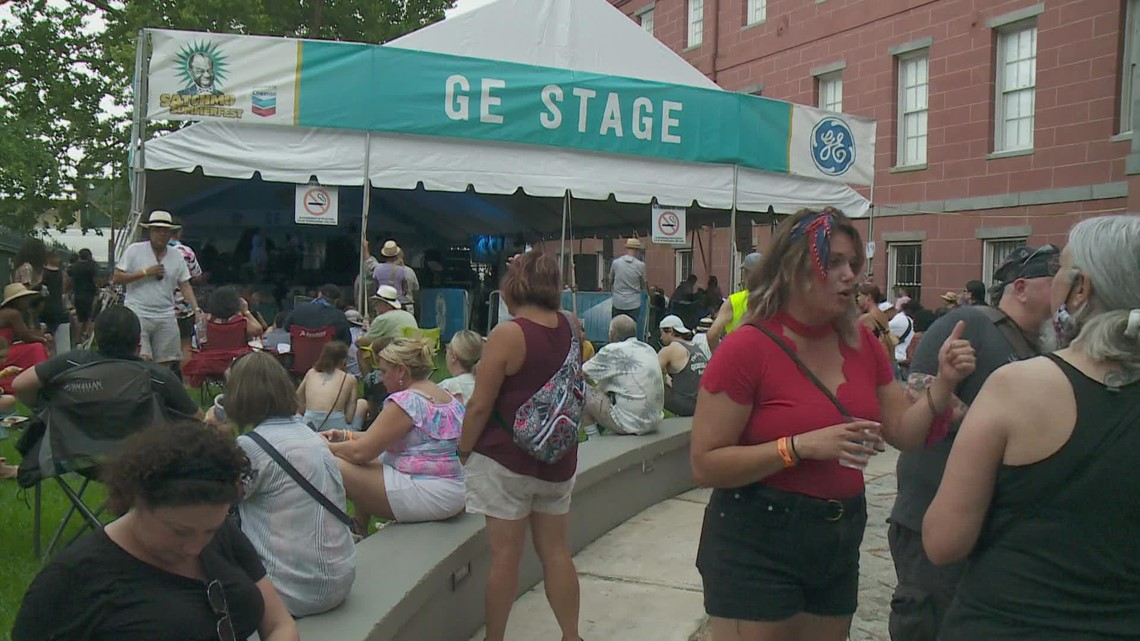 Opening day of Satchmo Summerfest