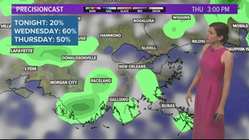 Hot with more scattered storms and downpours today