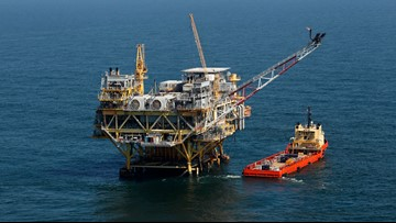 Louisiana to get $94M in offshore oil money for restoration
