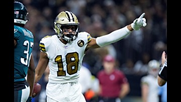 Saints WR Kirkwood out for Sunday, TE Watson 'questionable'