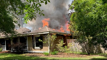 Slidell fire destroys family home - 4 dogs die