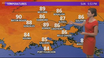 Fall begins Monday, and yep, we'll be in the 90s
