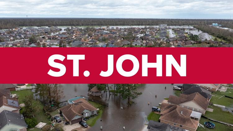 ST. JOHN THE BAPTIST PARISH | Latest on power, damage, closures & more