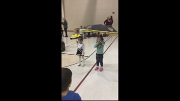Little Who Dats at Holy Trinity Lutheran School