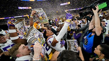 National champs LSU heading to White House Friday, report says