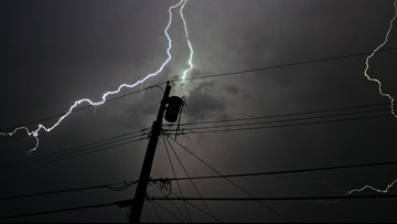 Thousands without power as heavy rains move over southeast Louisiana