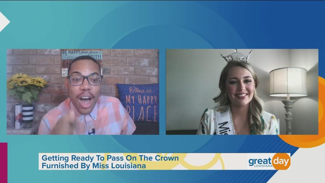 Miss Louisiana 2020 Discusses Reign