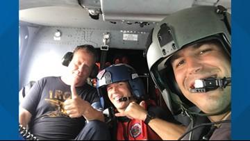 Man rescued after plane crashes off Louisiana coast
