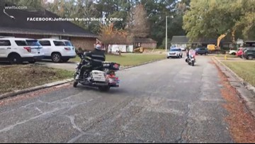 JPSO deputy shot in line of duty returns home after surgery