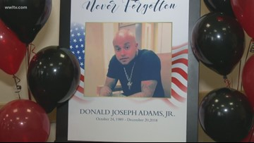 New Orleans TSA agents honor coworker murdered days before Christmas