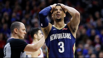 Pelicans fall to 76ers, 11th loss in a row
