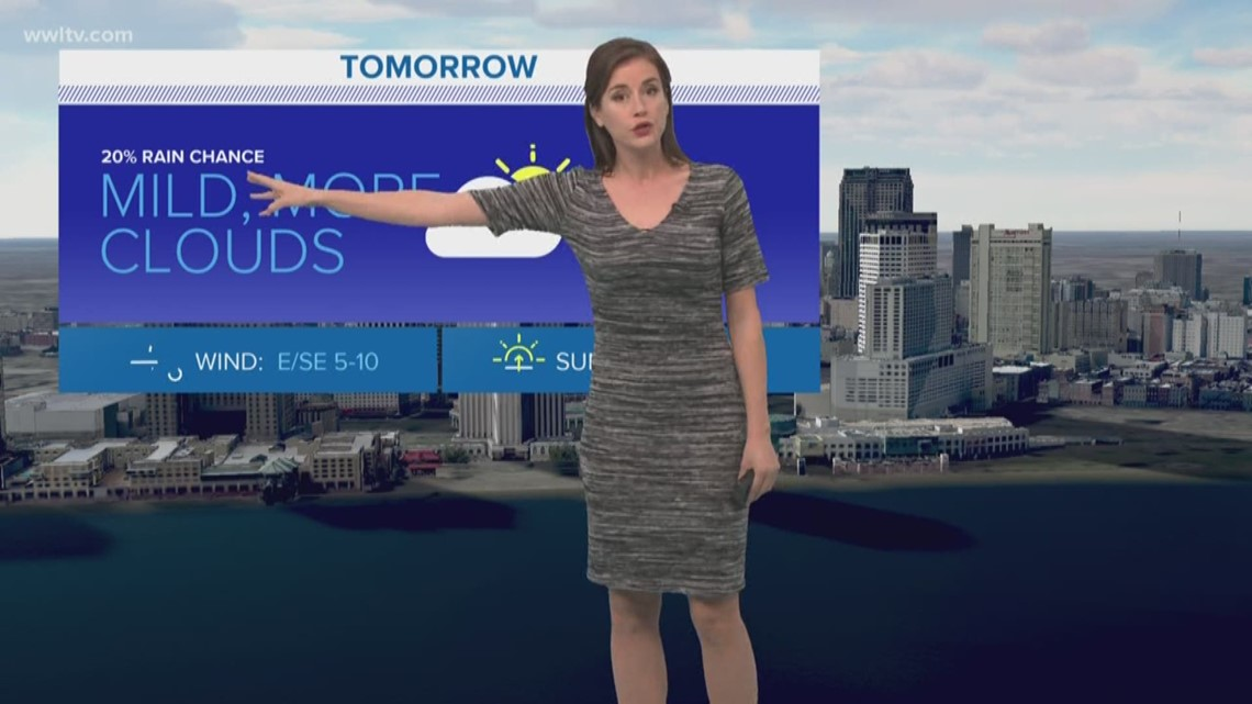 La Gas Prices >> Pinpoint Forecast: Chilly Monday morning, then mild with a ...