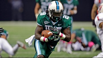 Saints add ex-Tulane rusher Robert Kelley