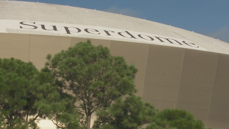 The Caesars Superdome: New name approved for New Orleans Stadium