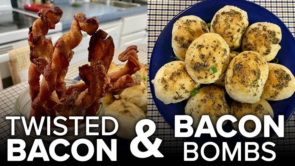 Recipe: Chef Kevin Belton's Bacon Bombs & Twisted Bacon