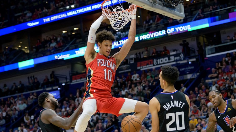 Jaxson Hayes arrested in California, according to report; Pelicans investigating
