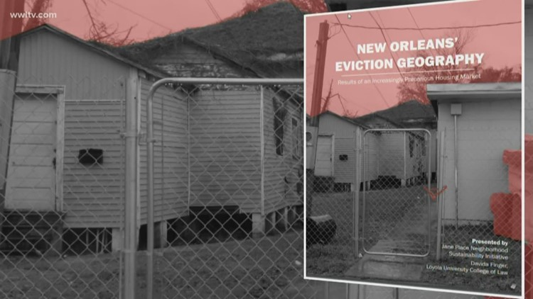 1 in 4 renters evicted in black neighborhoods: Study finds alarming eviction rates in New Orleans