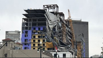 Hard Rock hotel collapse has cost New Orleans more than $11 million