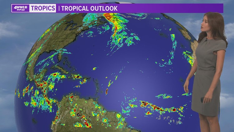 No tropical development is expected this week