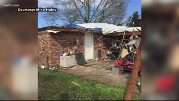 Winds damage homes in Washington Parish